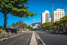 Cycling Path Along Ipanema Bea...