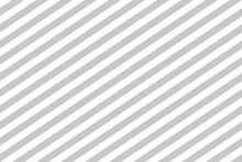 Pattern Stripe Seamless Gray And White. Diagonal Stripe Abstract Background Vector.