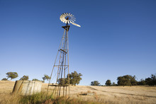 A Typical Australian Wind Mill...