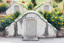Chinese Cemetery On Tomb Sweep...