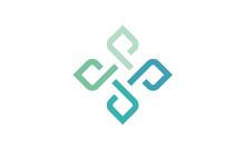 Infinity Flower Link Network Logo Design