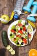 healthy eating, vegetable salad
