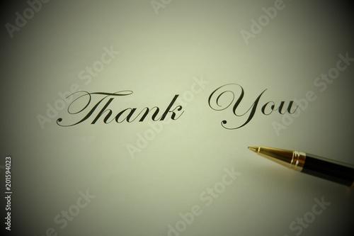 Fotografia  感謝の文字