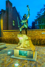 Statue Of Richard III In Front...