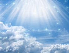 Divine, Mystical, Angelic Blue...