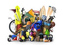 Sports Equipment Has Fallen Do...