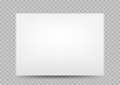 white paper banner cover transparent