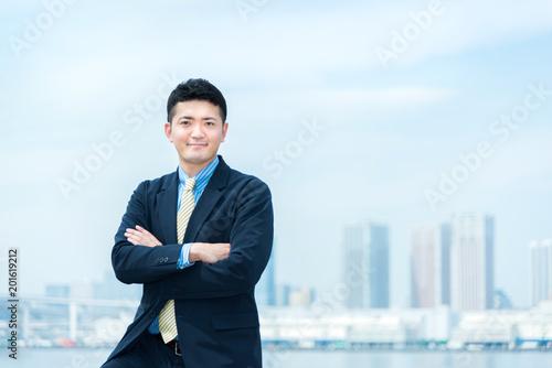 Fotografie, Obraz  30代 男性 ビジネスイメージ