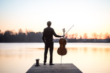 Cello Cellist Musician Playing...
