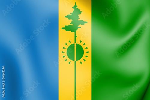 3d flag of nizhnekamsk republic of tatarstan russia buy this