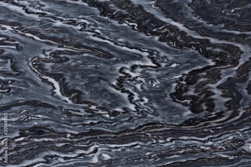 Stickers pour porte Marbre Stylish dark quartzite texture with ornamental surface.