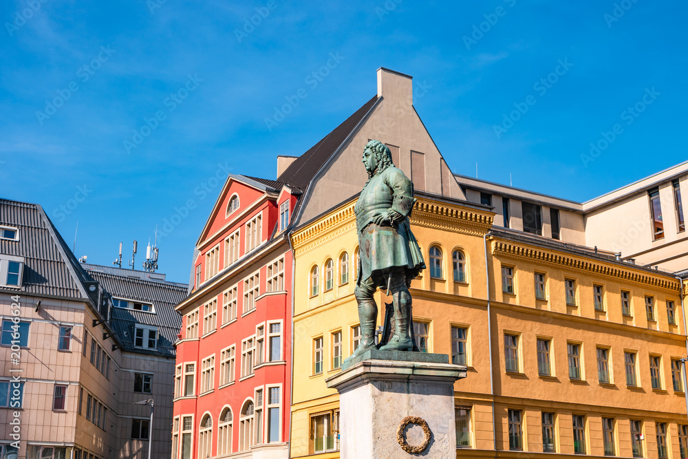 Photo & Art Print Monument of famous German composer George Frideric