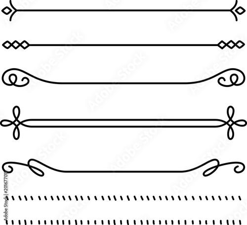 Fotografía  飾り線のセット