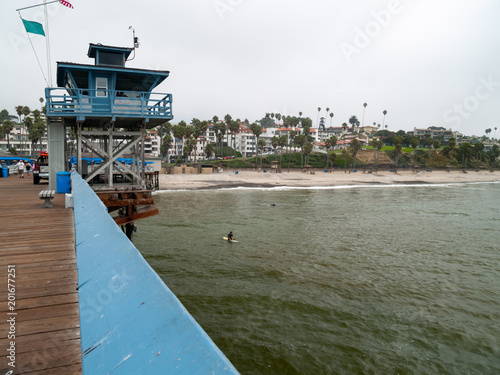 City on the water Pier in San Clemente, California