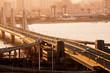 Memphis, Tennessee, USA at Hernando de Soto Bridge.