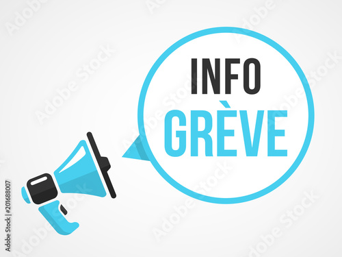 Info Grève Wallpaper Mural