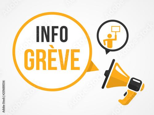 Photo  Info Grève