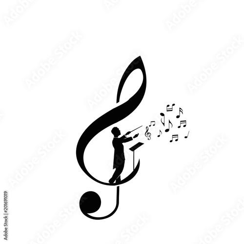 Valokuvatapetti choir guide logo