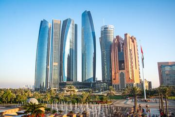 Pogled na grad Abu Dhabi, Ujedinjeni Arapski Emirati