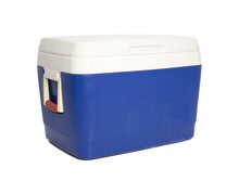 Esky - Cooler Box, Isolated On...