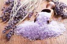 Lavender Bath Salt And Dried F...