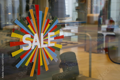 Obraz Sale signs - shopping concept - fototapety do salonu