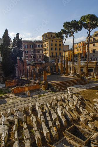 ROMA, ROME, Foro Romano, Rome, Italy Canvas Print