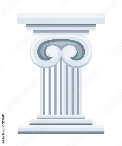 Roman column pedestal or pillar Wallpaper Mural