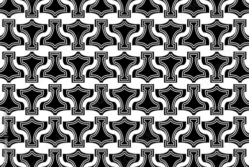Thor's Hammer - background, Thor Hammer icon black and white  pattern, Mjollnir Poster
