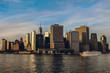 Big city is shining
