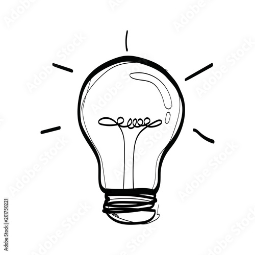 Clip Art Bulb Sketch