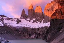 Sonnenaufgang Torres Del Paine...