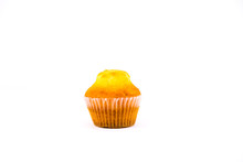 Muffin Isolated On White Backg...