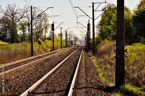 Tory kolejowe i infrastruktura kolejowa.