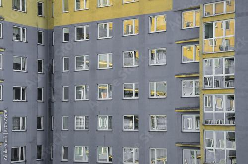 Obraz Budownictwo mieszkaniowe - fototapety do salonu
