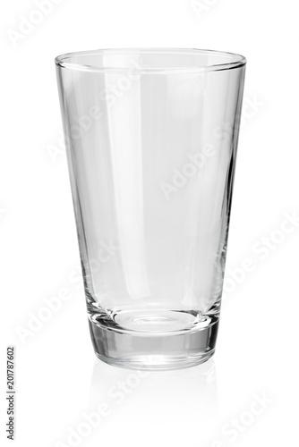 Obraz na plátně  Empty drink glass