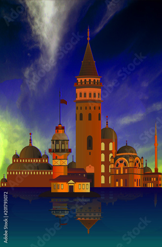 Valokuva TURKEY - Istanbul - Constantinople