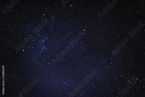 Obraz na płótnie Night starry sky