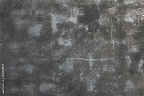 Black Scratched Grunge Iron Background Distressed Aged Texture