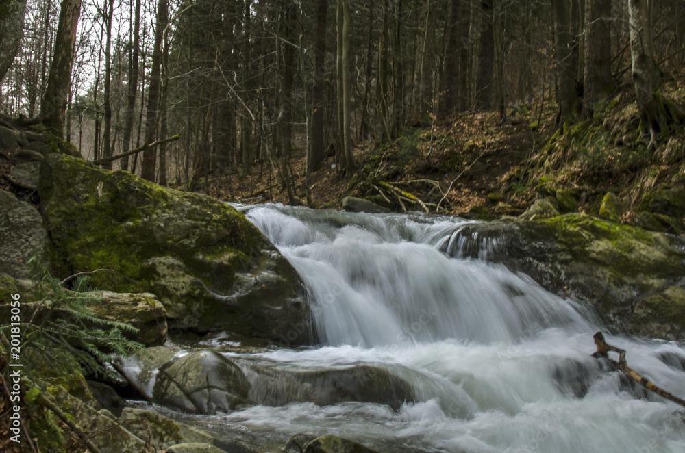 wodospad Bieszczady