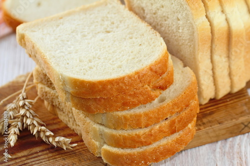 Fotografija Sliced white bread