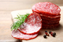 Sausage Salami And Spices
