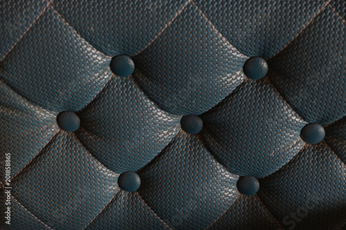 Luxurious Dark Blue Leather Sofa Texture Background Buy
