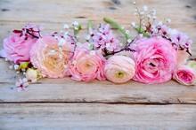 Grußkarte - Frühlingsblumen ...