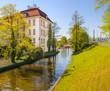 Berlin Schloss Köpenick - Schlossinsel / Kanal zur Dahme