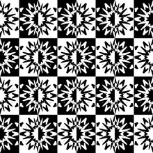 Seamless Pattern With A Abstra...