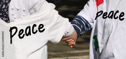 Fotografie, Obraz  Kids peace