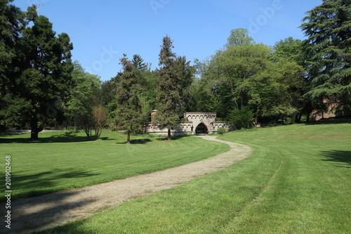 Aluminium Prints Garden Green park