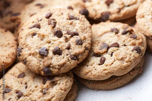 Tuinposter Koekjes Cookies close up