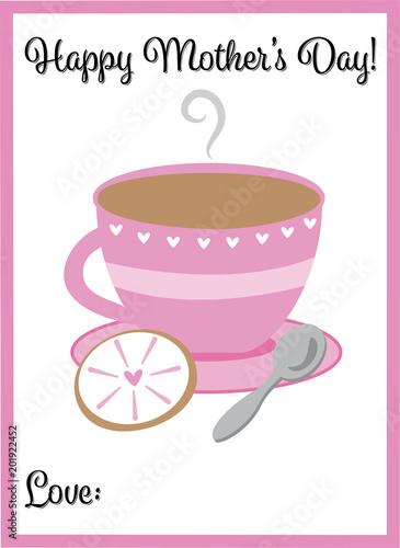 Fotografie, Obraz  Happy Mothers Day Tea
